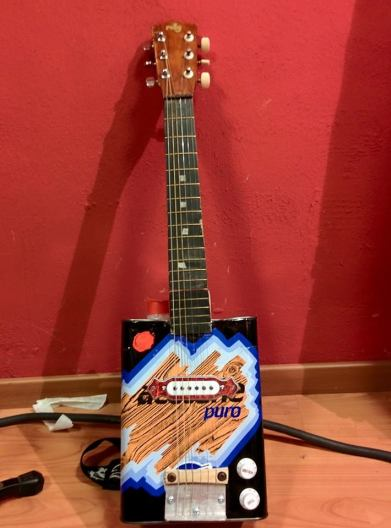 Ace-Tone Tin Can Guitar